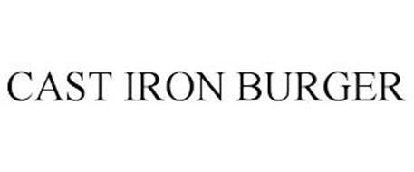 CAST IRON BURGER