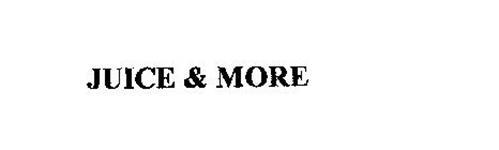 JUICE & MORE