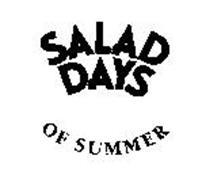 SALAD DAYS OF SUMMER