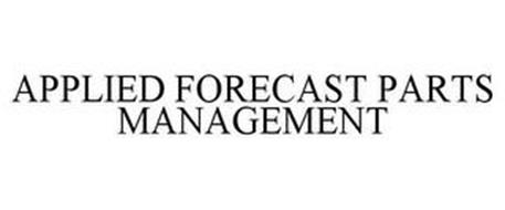APPLIED FORECAST PARTS MANAGEMENT