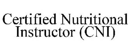 CERTIFIED NUTRITIONAL INSTRUCTOR (CNI)