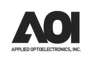 AOI APPLIED OPTOELECTRONICS, INC.