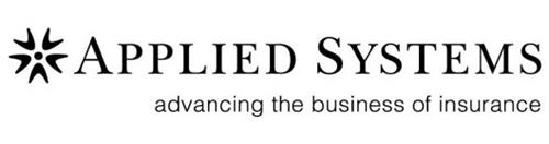 APPLIED SYSTEMS ADVANCING THE BUSINESS OF INSURANCE