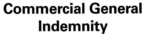 COMMERCIAL GENERAL INDEMNITY