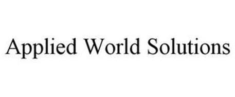 APPLIED WORLD SOLUTIONS