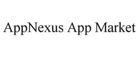 appnexus app market trademark of appnexus inc serial