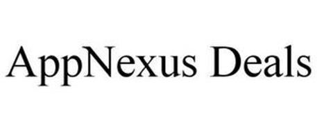 appnexus deals trademark of appnexus inc serial number