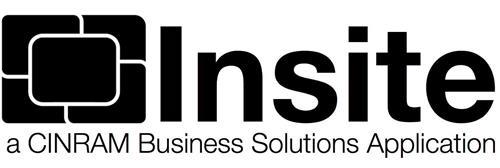INSITE A CINRAM BUSINESS SOLUTIONS APPLICATION