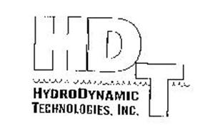 HDT HYDRODYNAMIC TECHNOLOGIES, INC.