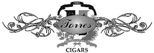 TORRES CIGARS PURE DOMINICAN HAND ROLLED PURO REPUBLICA DOMINICANA