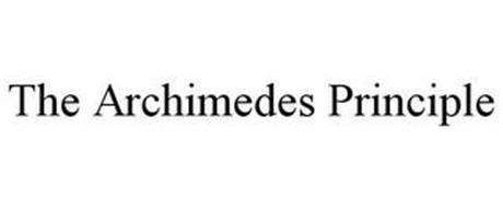 THE ARCHIMEDES PRINCIPLE
