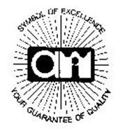 SYMBOL OF EXCELLENCE YOUR GUARANTEE OF QUALITY AWI