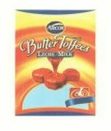 ARCOR BUTTER TOFFEES LECHE/MILK