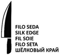 FILO SEDA SILK EDGE FIL SOIE FILO SETA
