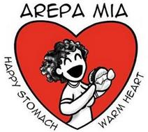 AREPA MIA HAPPY STOMACH WARM HEART