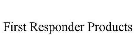 FIRST RESPONDER PRODUCTS