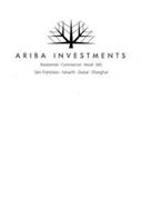 ARIBA INVESTMENTS RESIDENTIAL · COMMERCIAL · RETAIL · EB5 SAN FRANCISCO · KARACHI · DUBAI · SHANGHAI