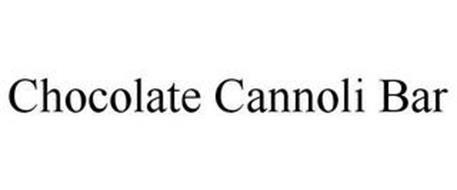 CHOCOLATE CANNOLI BAR
