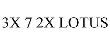 3X 7 2X LOTUS