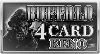 BUFFALO 4 CARD KENO