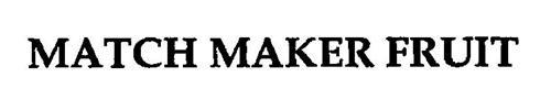 MATCH MAKER FRUIT