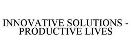 INNOVATIVE SOLUTIONS - PRODUCTIVE LIVES