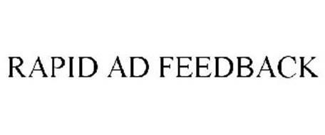 RAPID AD FEEDBACK