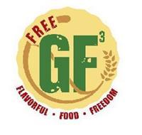 FREE GF3 FLAVORFUL · FOOD · FREEDOM