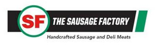 SF THE SAUSAGE FACTORY HANDCRAFTED SAUSAGE AND DELI MEATS
