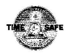TIME SAFE SEEING IS BELIEVING PUT A LOCK ON THE CLOCK