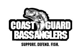 COAST GUARD BASS ANGLERS SUPPORT. DEFEND. FISH.