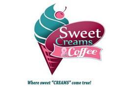 "SWEET CREAMS & COFFEE WHERE SWEET ""CREAMS"" COME TRUE!"