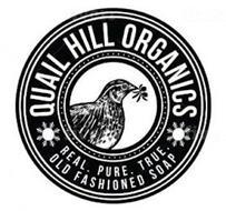 QUAIL HILL ORGANICS REAL. PURE. TRUE. OLD FASHIONED SOAP