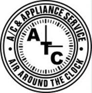 A/C & APPLIANCE SERVICE ATC AIR AROUND THE CLOCK