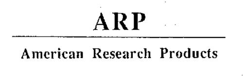 ARP AMERICAN RESEARCH PRODUCTS