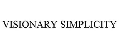 VISIONARY SIMPLICITY
