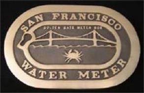 SAN FRANCISCO WATER METER GOLDEN GATE METER BOX