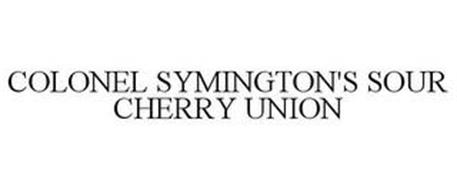 COLONEL SYMINGTON'S SOUR CHERRY UNION