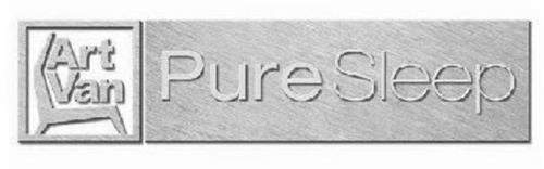Art Van Pure Sleep Trademark Of Art Van Furniture Llc Serial Number 85130918 Trademarkia