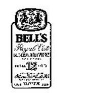 BELL'S ROYAL VAT BLENDED SCOTCH WHISKY 12 YEARS OLD BLENDED AND BOTTLED BY ARTHUR BELL & SONS LTD PERTH SCOTLAND EST. 1825 100% SCOTCH WHISKIES 4/5 QUART 86 PROOF