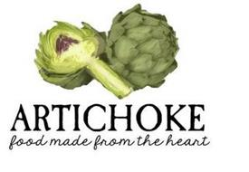 ARTICHOKE FOOD MADE FROM THE HEART