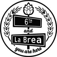 6TH AND LA BREA YOU ARE HERE