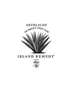 ARUBA ALOE THE WORLD'S FINEST ALOE ISLAND REMEDY SINCE 1890