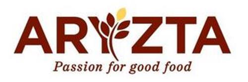 ARYZTA PASSION FOR GOOD FOOD