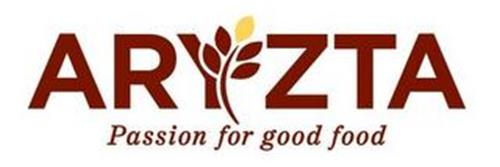 ARYZTA PASSION FOR GOOD FOOD