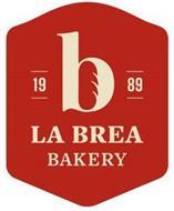 B 1989 LA BREA BAKERY