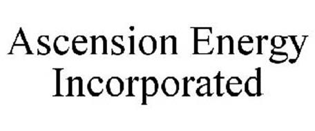 ASCENSION ENERGY INCORPORATED