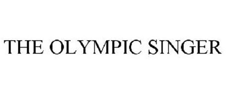 THE OLYMPIC SINGER