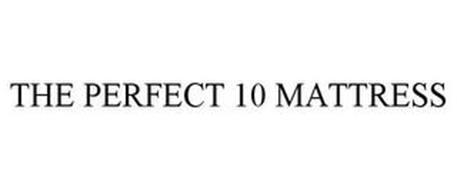 THE PERFECT 10 MATTRESS