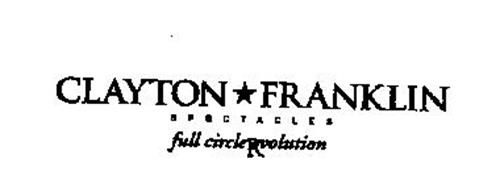 CLAYTON FRANKLIN SPECTACLES FULL CIRCLE REVOLUTION